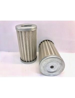 Cartuccia ricambio rete INOX 150 MICRON mm 60 x H117 foro sup mm 31 foro inf mm 8
