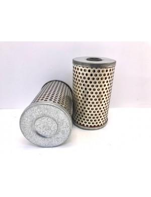 Cartuccia ricambio rete INOX e filtrante in carta da 30 micron 55 x H89 foro mm 12
