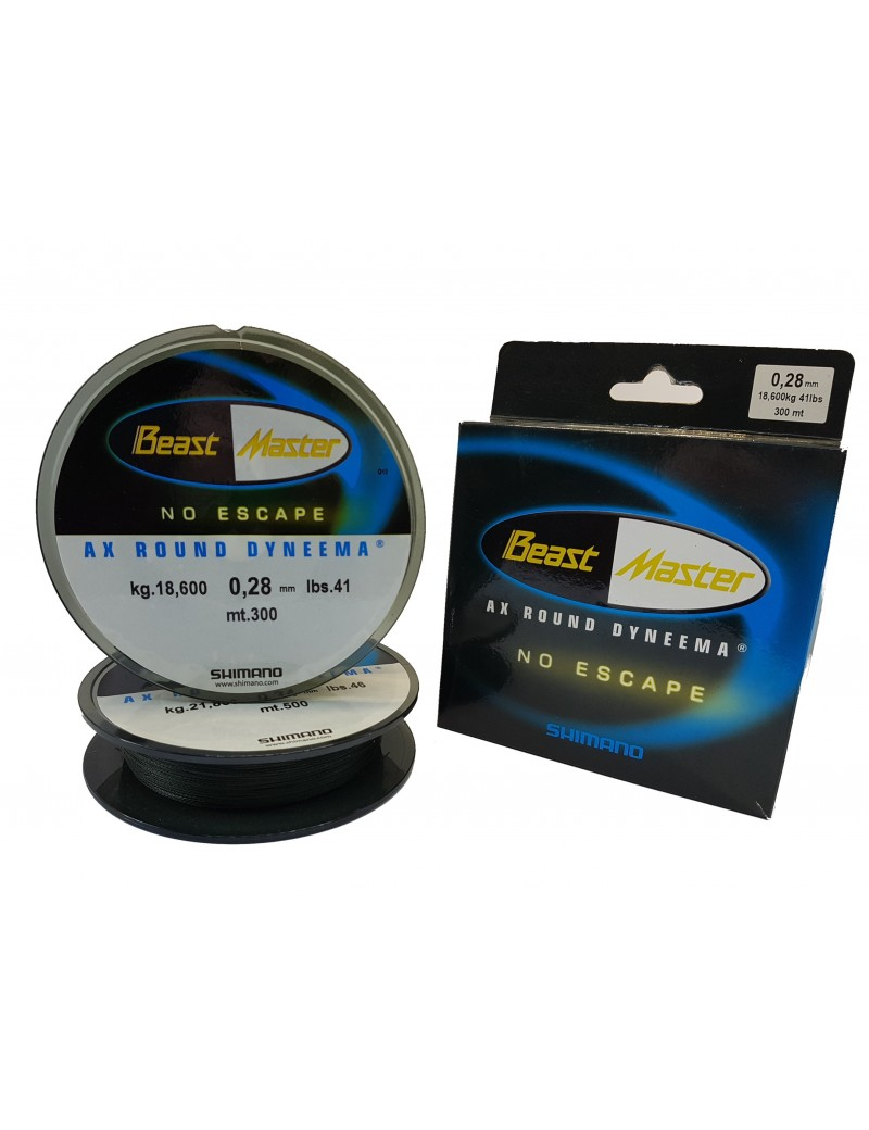 BeastMaster AX Round Dyneema