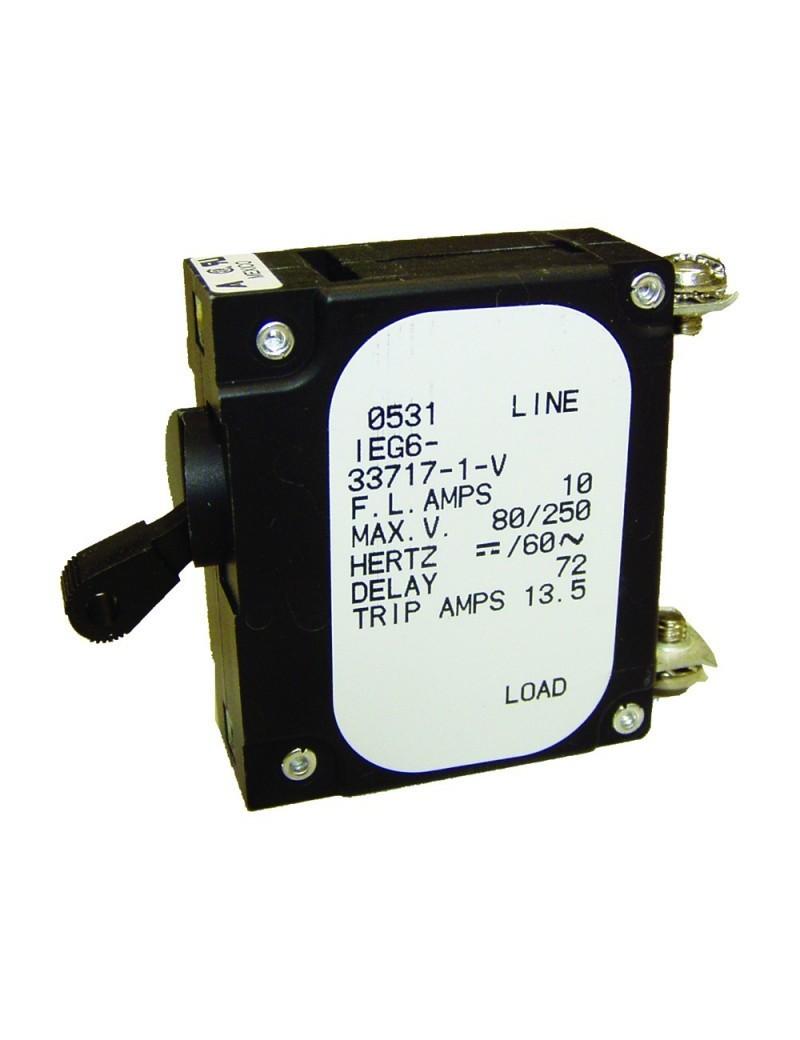 Interruttore magnetotermico unipolare Airpax