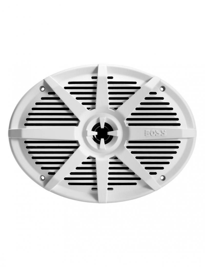 Coppia altoparlanti BOSS MARINE MR692W forma ovale 352 x 229 mm - 350 Watt
