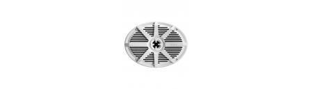 Coppia altoparlanti BOSS MARINE MR692W ovale 352 x 229 mm - 350 Watt