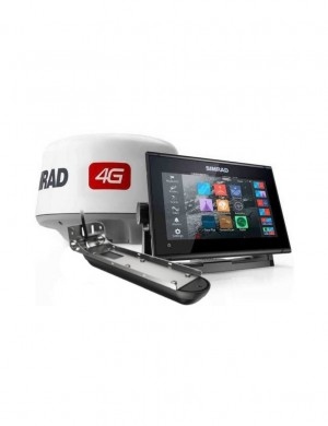 SIMRAD GO9 XSE Radar Pack 4G  e Trasduttore Active Imaging 3-in-1