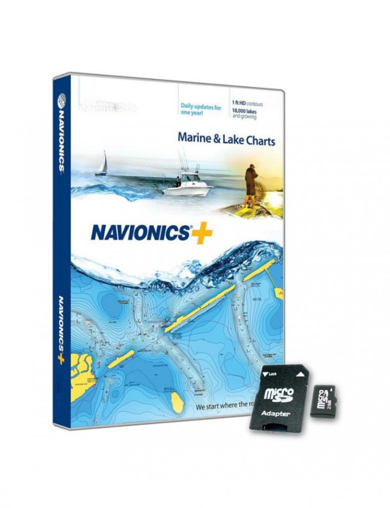 Cartografia Navionics+ Gold XL9 43XG Mediterraneo e Mar Nero - SD/MicroSD