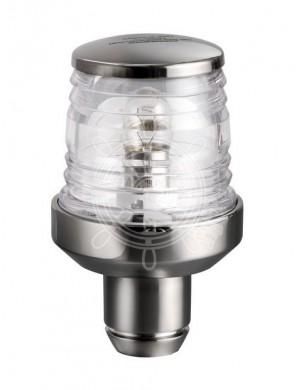 Luce di testa albero Classic 360° in acciaio INOX con attacco asta 20Ø mm 60 x H74
