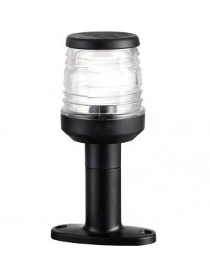 Luce di testa albero Classic 360° NERO LED con basetta di rialzo mm H15