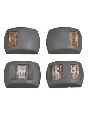 Luce di via Compact LED NERA mm 70 x H45