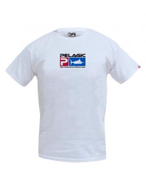 Pelagic Deluxe Logo T-Shirt - WHT