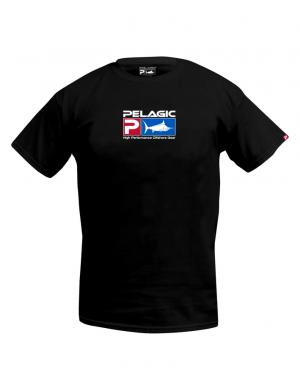 Pelagic Deluxe Logo T-Shirt - BLK