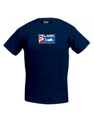 Pelagic Deluxe Logo T-Shirt - NVY