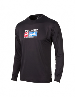 Maglia Pelagic Aquatek Performance Fishing - BLK