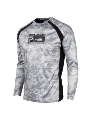 Maglia Pelagic Vaportek Performance Fishing - GRY