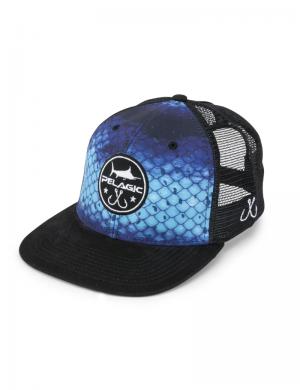 Cappello Pelagic Hydro Snapback - Blue Dorado